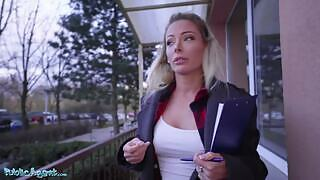 Isabelle Deltore fucks this guy after he offered her cash